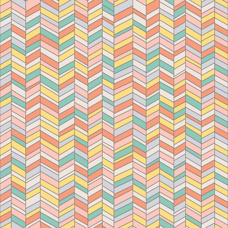 pattern of geometric shapes: Retro seamless pattern of geometric shapes  Background