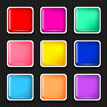Icon sets for mobile application interface  Buttons Stock Vector - 28910863