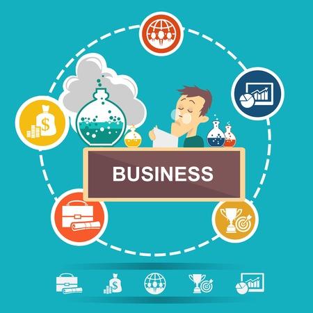 command structure: Business start infographics template  Start up   Communication  Progress