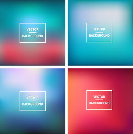 nice: Abstract colorful blurred background Illustration