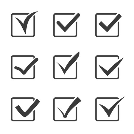 checked: Completion of tasks on a list. Answers to your questions.