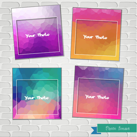 border frame: Photo frame  The composition with the photos  Scrapbooking ?ollage Border frame Postcard