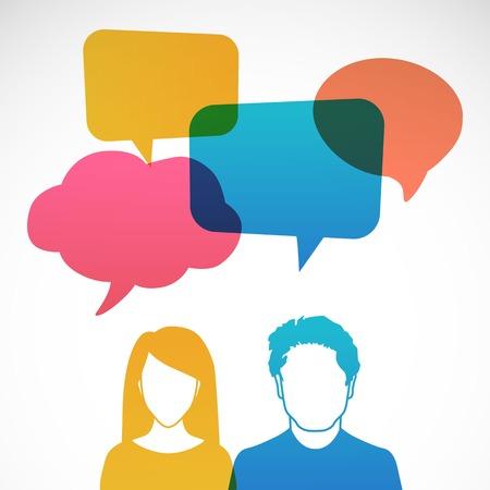 profile picture: Men and women avatar profile picture set.