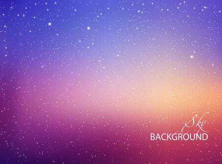 milky: Abstract background. Night sky vector illustration