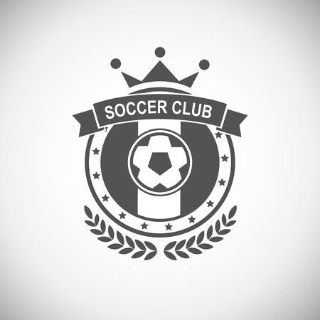 гребень: Векторный набор спортивных эмблем. Логотип значки и наклейки футбол значок
