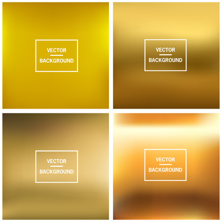 Abstract colorful blurred vector backgrounds. Set timeline template. Vector