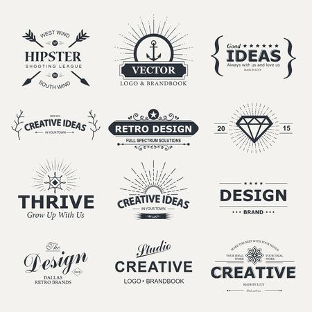 Vintage design elements.