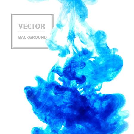Mooie vorm van inkt. Vector illustratie. We kunnen dit gebruiken als achtergrond, brochures, visitekaartjes, patroonvullingen, ontwerp van uw website.