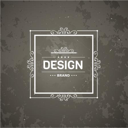 Monogram luxe sjabloon met bloeit kalligrafische elegante ornament elementen. Luxe elegant ontwerp voor cafe, restaurant, boutique, hotel, winkel, opslag, heraldisch, sieraden, mode