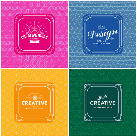 Monogram luxury template with flourishes calligraphic elegant ornament background. Luxury elegant design for cafe, restaurant, boutique, hotel, shop, store, heraldic, jewelry, fashion Vector Illustration
