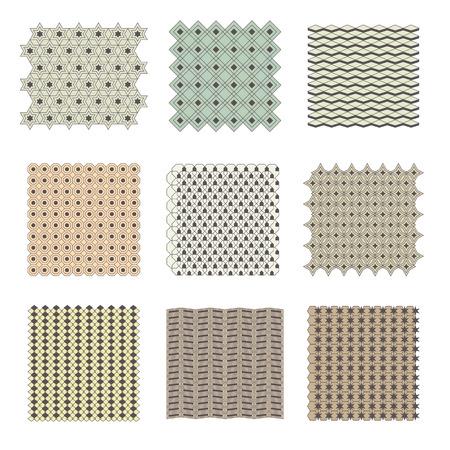 piedra laja: Elementos de dise�o de paisaje detalladas. Vista superior. Piedra pavimentada
