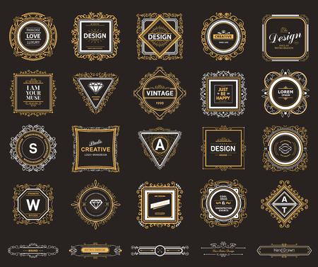 モノグラム ・高級テンプレート盛ん書道エレガントな装飾の要素であります。高級エレガントなデザインのカフェ、レストラン、バー、ブティック