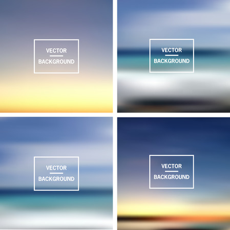 nice: Abstract colorful template blurred backgrounds.  Elements for your website, application, presentation. Illustration