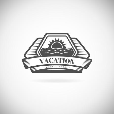 professional: Retro Vintage label outline emblem or icon.. Vector design element template.