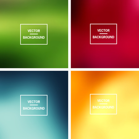 blurred background: Abstract colorful blurred vector backgrounds.  Elements for your website or presentation.
