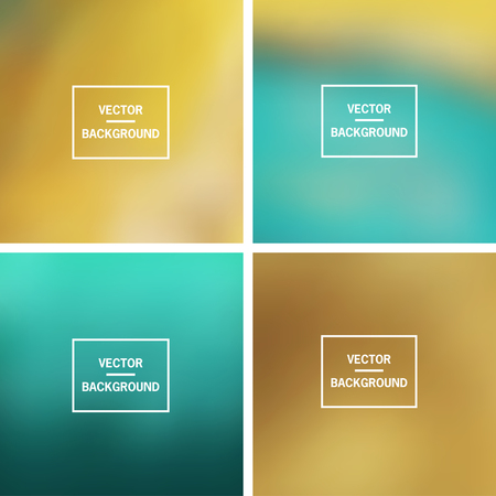 vector backgrounds: Abstract colorful blurred vector backgrounds.  Elements for your website or presentation.