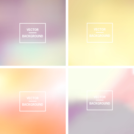 gradients: Abstract colorful blurred vector backgrounds.  Elements for your website or presentation.