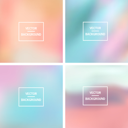 background colors: Abstract colorful blurred vector backgrounds.  Elements for your website or presentation.