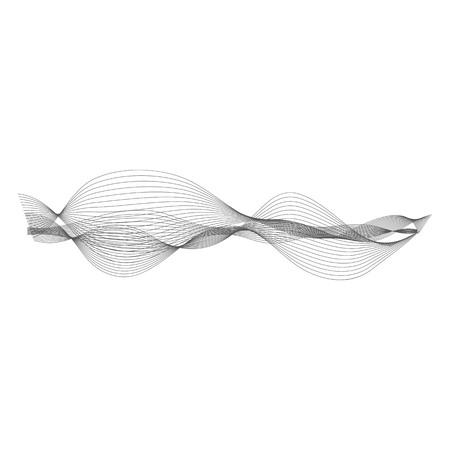 Musik Schallwelle. Audio-Digital-Equalizer Technologie, Konsolentafel, Puls musikalisch.