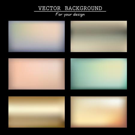 Abstracte kleurrijke wazig vector achtergronden. Vector tijdlijnsjabloon. Elementen voor uw website of presentatie. Toepassing