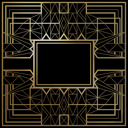 Geometric template vector frames shapes of retro style line geometric template vector frames shapes of retro style line design you can use stopboris Choice Image