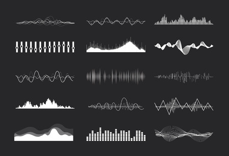 soundwave: Vector music sound waves