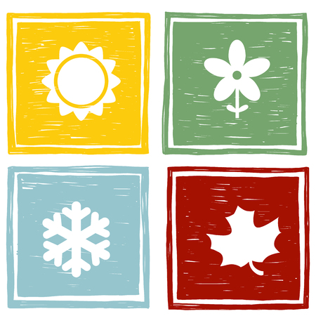 Four seasons of the year.