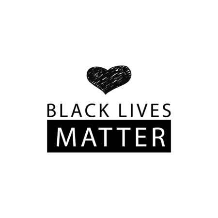 Black lives matter vector illustration