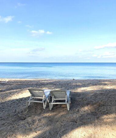 Bang Tao Beach on the ocean in Thailand