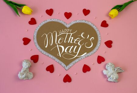 card, banner, template, greeting, an invitation for mothers day