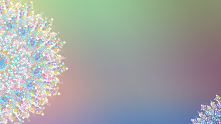 Background with snowflakes white for Christmas and new year. Digital  Illustrations of snowflakes for a backdrop. Copy space Happy new year, Christmas decoration copy space Stock Photo