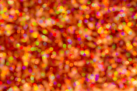 Abstract Christmas glittering backdrop. Background of blur colorful texture bokeh for Festival and New year. Game of color. Stok Fotoğraf