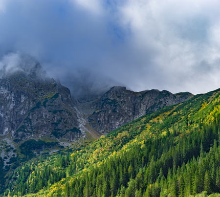 mnich: Eastern Tatra Mountains, Mount Mnich (Monk), Poland