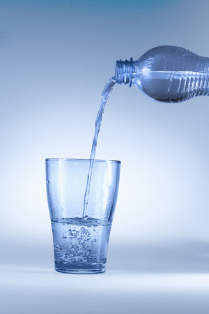 pure: Pure water Stock Photo