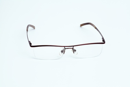 Eyeglasses on a white background