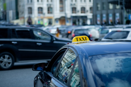 taxicab: taxicab Stock Photo