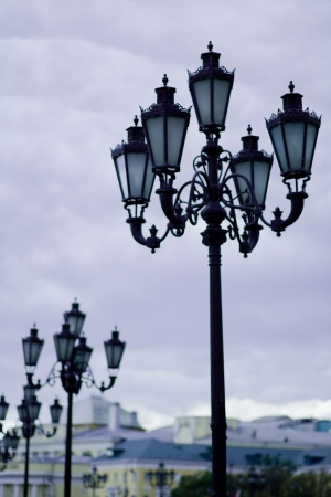 street lamps Stock Photo