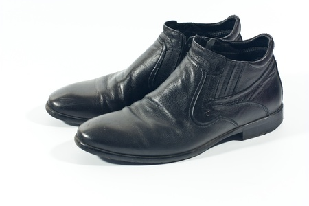 men black shoes photo