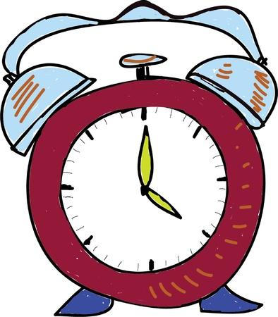 Classic alarm clock Stock Vector - 15931258