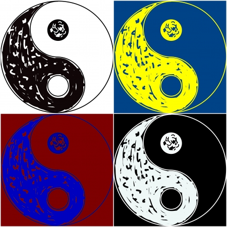Yin Yang s�mbolos