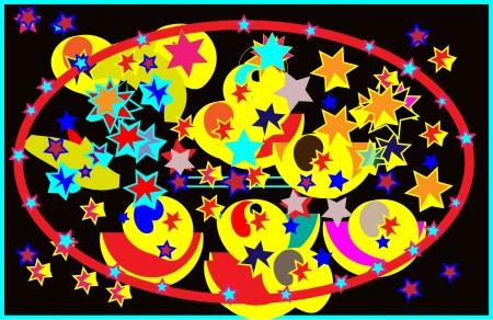 stars  Stock Vector - 16480366
