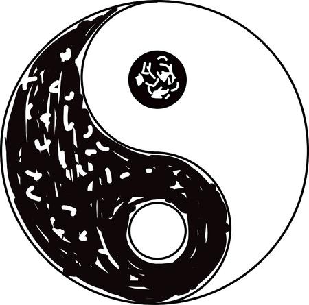 Yin Yang symbol  Vector