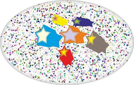 Stars  background Stock Vector - 16525217
