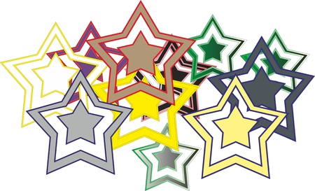 Stars Stock Vector - 16525216