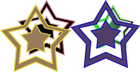 Stars   Stock Vector - 16525212
