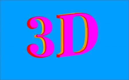 lettre: 3D