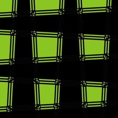 modelo abstracto de cuadrados Foto de archivo