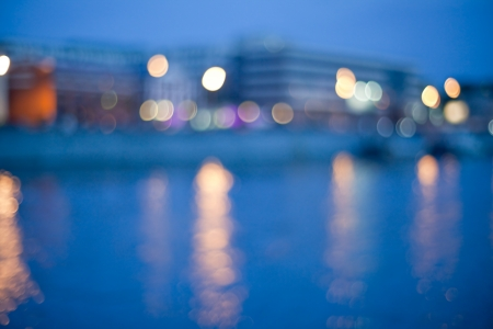 Ciudad en la noche