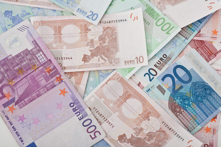 currency exchange: Background of euros money