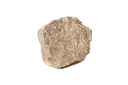 natural stone isolated on white background  Reklamní fotografie